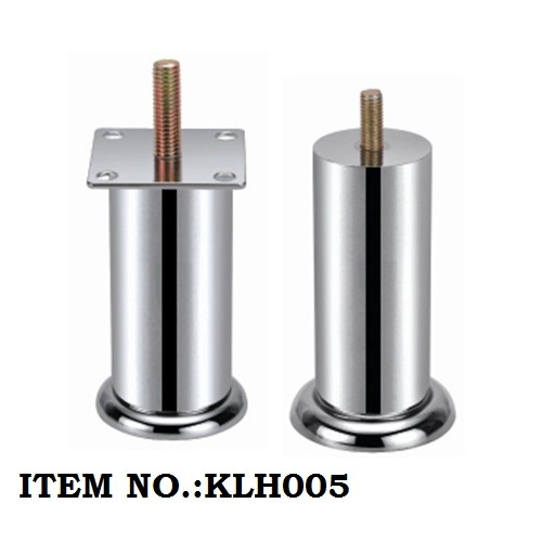 Stainless Steel Classical Round Tube Furniture Parts Cabinet Leg