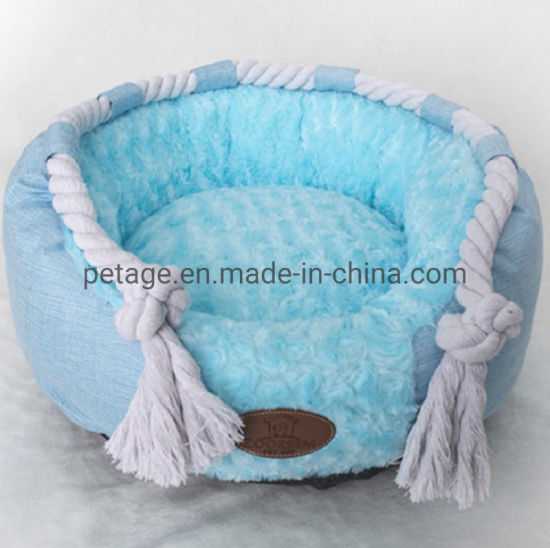 Dog Sleeping House Removable Beds Chewing Toys Kennel Pet Accessories