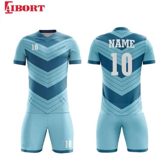 Aibort 2020 Custom Sublimation Print Soccer Jersey (J-SC028 (2))