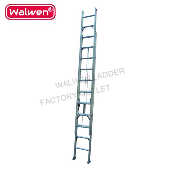 China 2 12 Steps 7 2m Aluminum Aluminium Double Extension Telescopic Step Ladder With Movable Wheels China High Quality Aluminum Ladder And 2 8 2 10 2 20 Steps Ladder Price