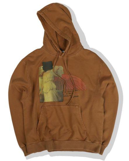 High Definition Digital Print Men's Long Sleeve Pullover Hoodie