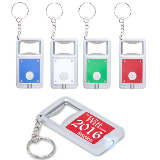 Hot Selling LED Keychain with Bottle Opener pictures & photos