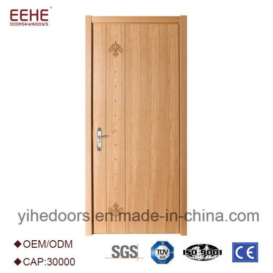 Modern Design Wooden Door With Solid Particle Board