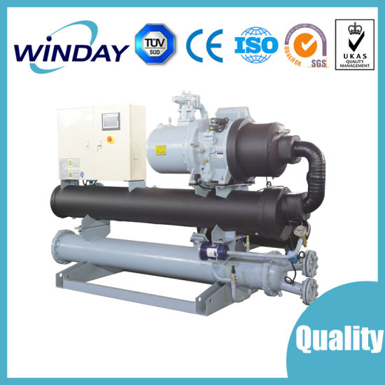 Water Cooled Screw Type Compressor Water Chiller Industrial Chiller pictures & photos