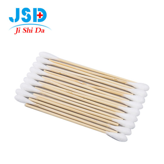 Low MOQ Bamboo Stick Cleaning Cotton Swab