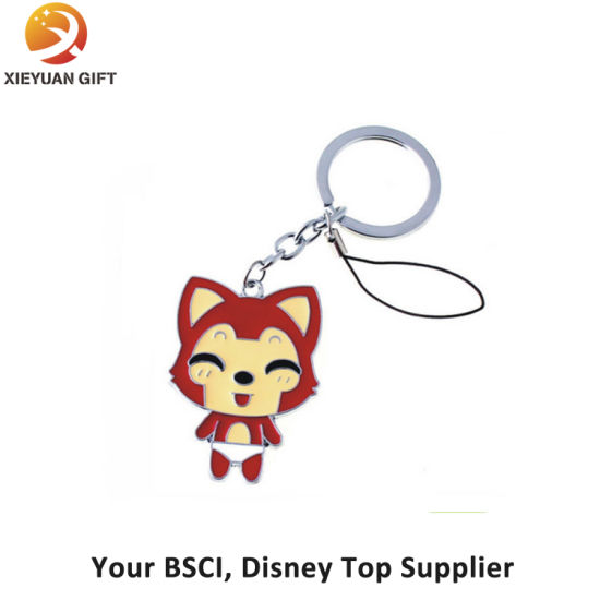 Promotion Fashion Metal Ahri Keychain with Holder