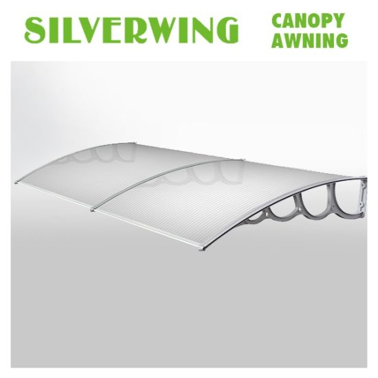 China DIY Plastic Frame for Outdoor Canopy Polycarbonate Balcony ...