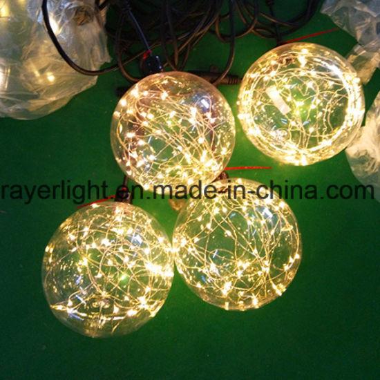 Hanging LED Wine Bottle Light for Decoration LED Ball Light