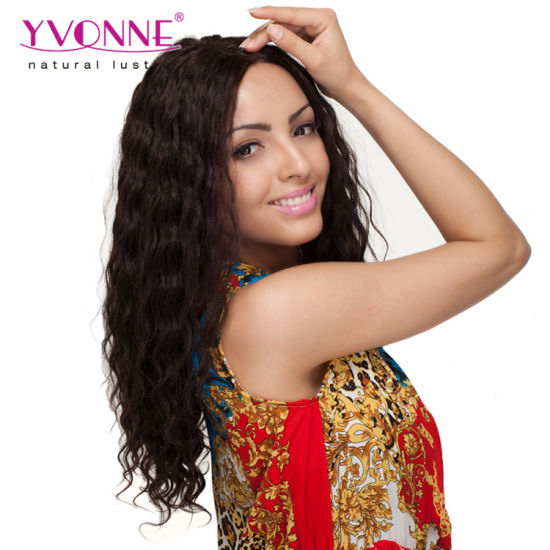 Fast Delivery Brazilian Human Hair Front Lace Wig pictures & photos