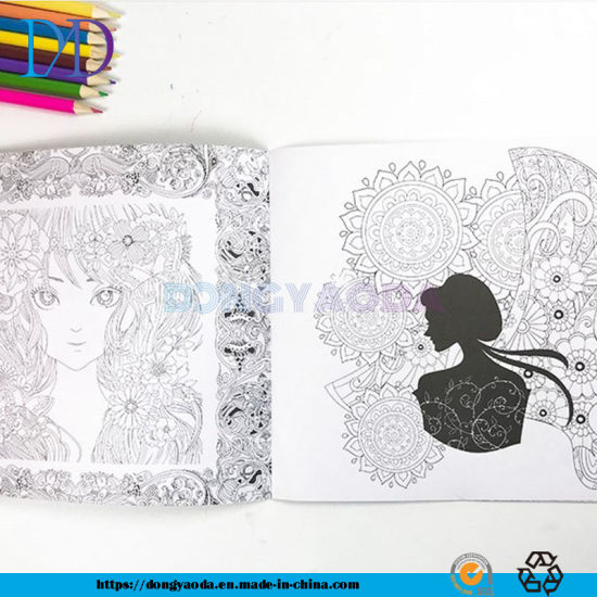 - China Custom Coloring Book Printing For Adults And Children - China Coloring  Book, Scribble