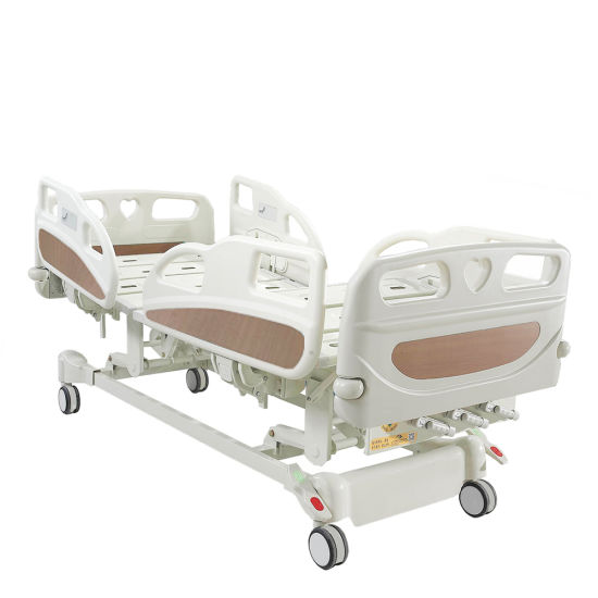 Intensive Care Manual Hospital Bed with Three Functions