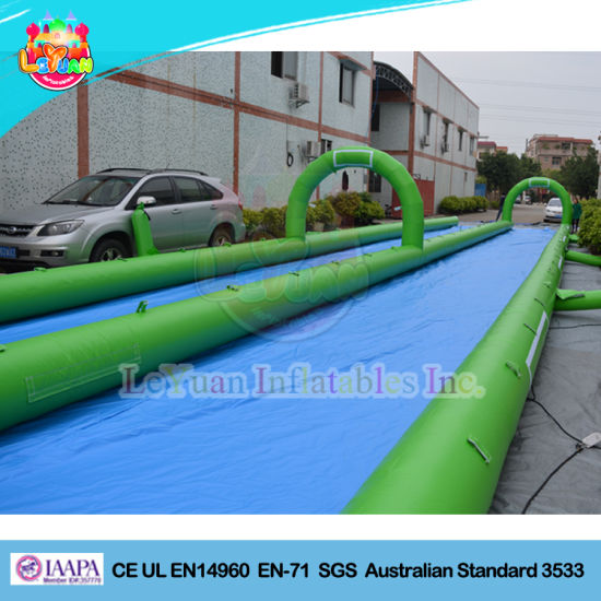 Outdoor Single Bottom Large Inflatable Slide The City pictures & photos