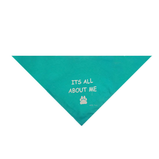 Special Design Dog Clothes Hand Knitted Folding Triangle Doggie Bandana