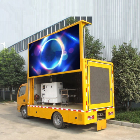 Dongfeng Outdoor P5 P6 P10 Mobile LED Display Truck on Sales pictures & photos