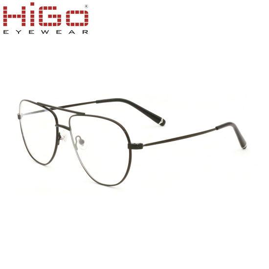 New Model Spectacles Fashion Eyewear Frame Metal Glasses