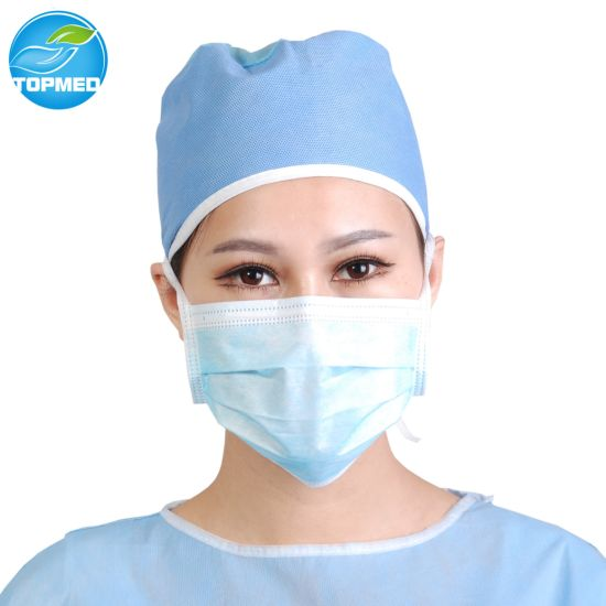 With Medical Hospital Mask Mask Earloop Face
