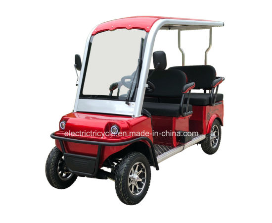 Electric 4-Wheel Mobility Vehicle, Four Wheel Sightseeing Car