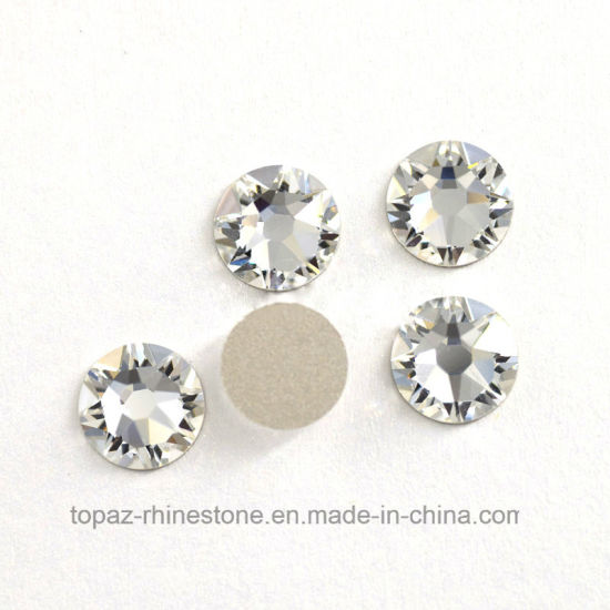 60756a5373 Nohf Clear 8 Big 8 Small Ss16 Ss20 Ss30 Non Hotfix Flatback Strass Crystal  Rhinestone for Nail Art (FB-ss20 clear/5A)