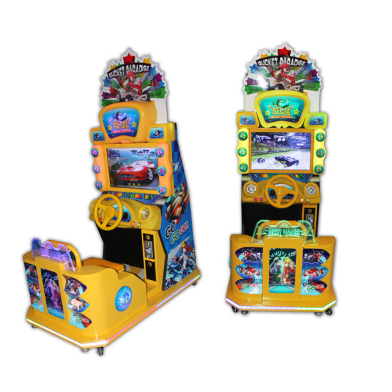 Arcade Racing Game Machine Simulator Play Car Racing Games For Kids