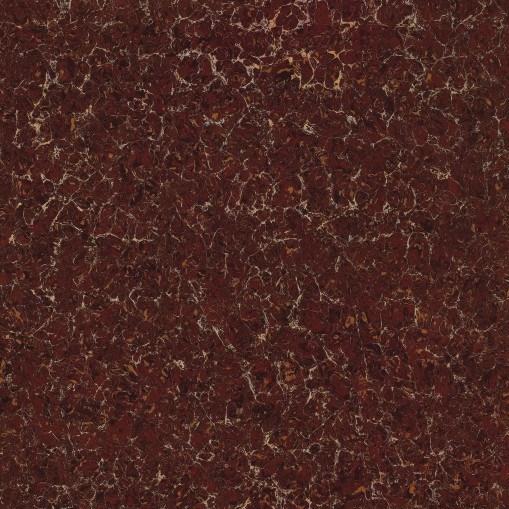 600*600mm Brown Pulati Design Unglazed Polished Double Loading Porcelain Floor Tile (GL6707)