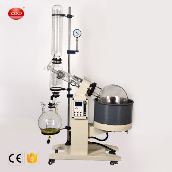 Zzkd Best Price Electronic LED Display 20L High Vacuum Rotary Evaporator