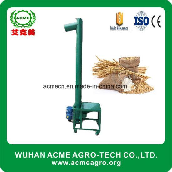 China Grain Conveyor Beans Screw Auger Elevator Factory Direct Sale