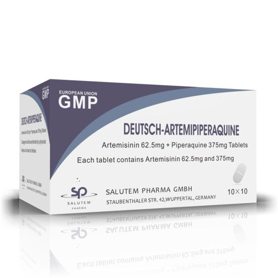 Competitive Contract Manufacturing Artemisinin 62.5mg + Piperaquine 375mg Tablets
