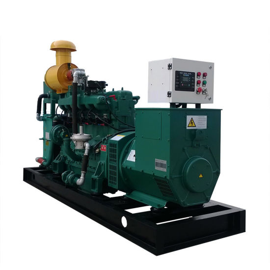 China Biogas Natural Gas Generator Set Best with Silent Type