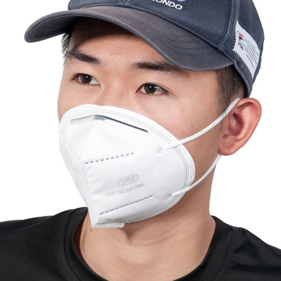 China Factory 5 Ply Approved Face Mask KN95 Comfortable and Breathable FFP2