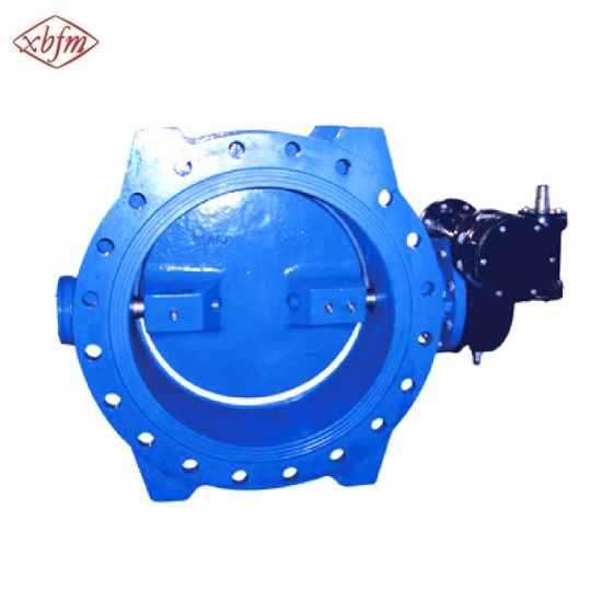 Double Eccentric Flange Butterfly Valve pictures & photos