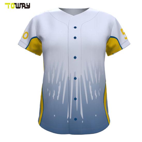 the best attitude b7513 efe87 China Wholesale Custom Youth Dri Fit Baseball Jerseys ...