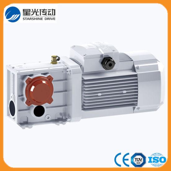 Bevel Helical Geared Motor for Ceramic Conveyor System