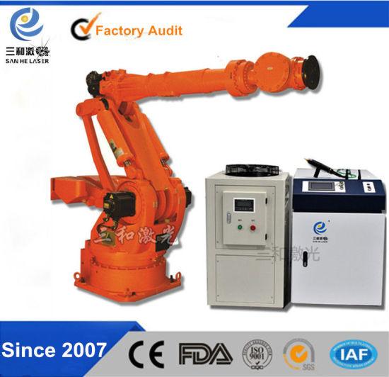 China Factory ABB Kuka 6 Axis Robot for Laser Welding Machine