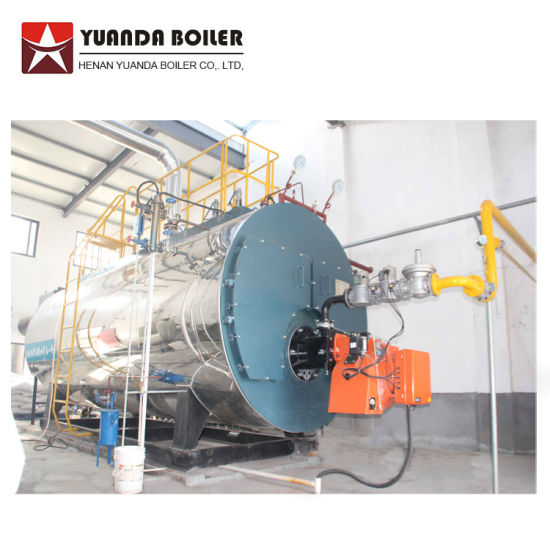 Wns Model Horizontal 10 Tph Gas Oil Fired Steam Boiler Price