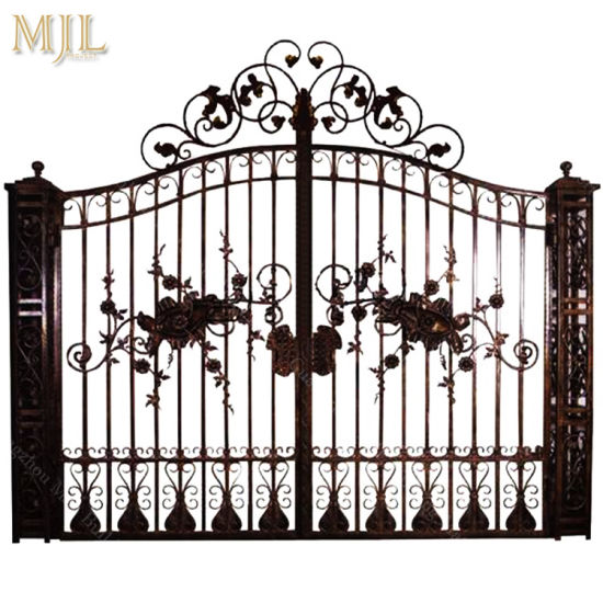 China Quality Guaranteed New Style Steel Main Iron Gate