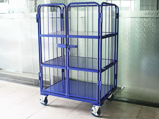 Warehouse or Supermarket Storage Roll Cage pictures & photos