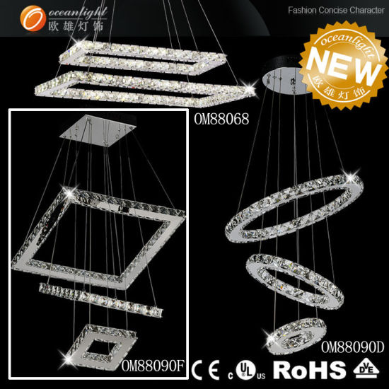 Canadian LED Crystal Chandelier Lighting, LED Pendant Light Lamp, LED Lighting for Home, Lighting Fixture (OM1) pictures & photos