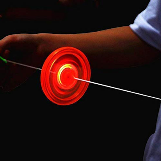 LED Flash Cable Gyro Flywheel Light Toys pictures & photos
