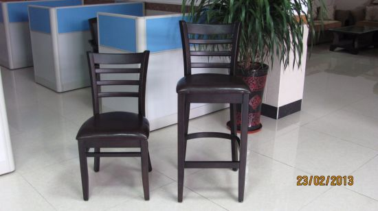 Hotel Furniture/Hotel Chair/Restaurant Chair/Solid Wood Frame Chair/Dining Chair (NCHC-GL005) pictures & photos