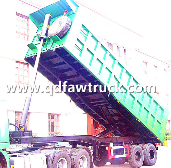 35 Cubic Meters Used Dump Truck Trailer pictures & photos