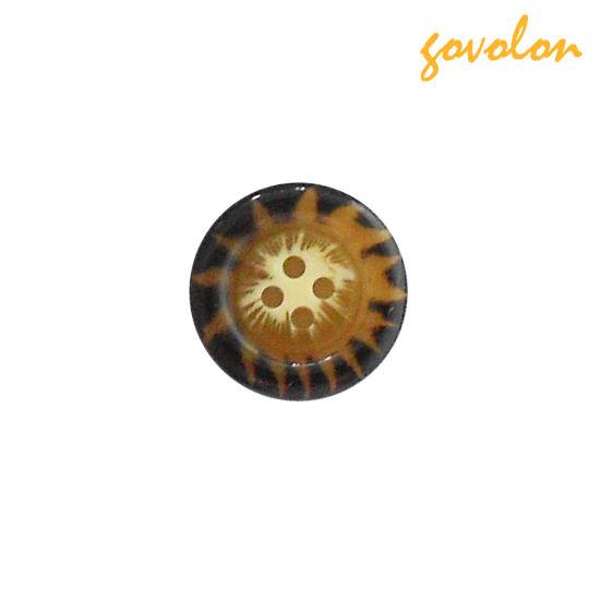 Wooden 4-Holes Button