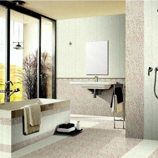 Polished Glazed Porcelain Tile Manufacturer Ceramic Bathroom Floor Tile 60x60