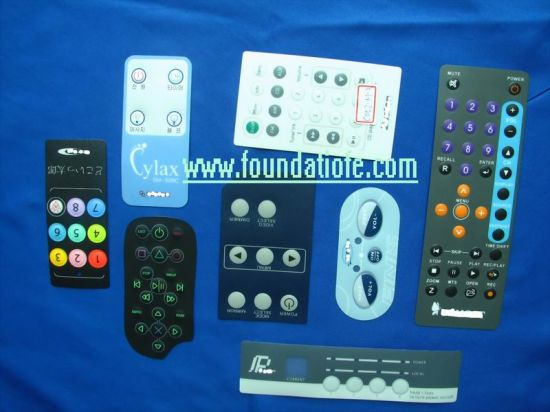 PCBA Graphic Overlay Membrane Panel Control Keypad Touch Switch