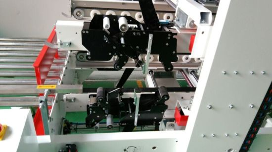 Yupack L Shape Side and Corner Sealing Automatic Box Sealing Machine pictures & photos