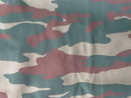 Camouflage Military Poly/Cotton Printed Fabric pictures & photos