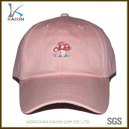 China Wholesale Baby Pink Baseball Cap Kids Embroidered Dad Hat ... fd5b72b62d9