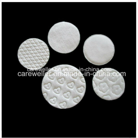 Round Absorment Cosmetic Cotton Pad pictures & photos