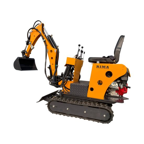 0.8ton Mini Excavator / Garden Digger / Gasoline Engine Small Excavator