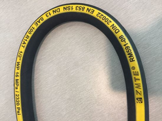 Factory Supplied High Pressure Rubber Hose En853 2sn pictures & photos