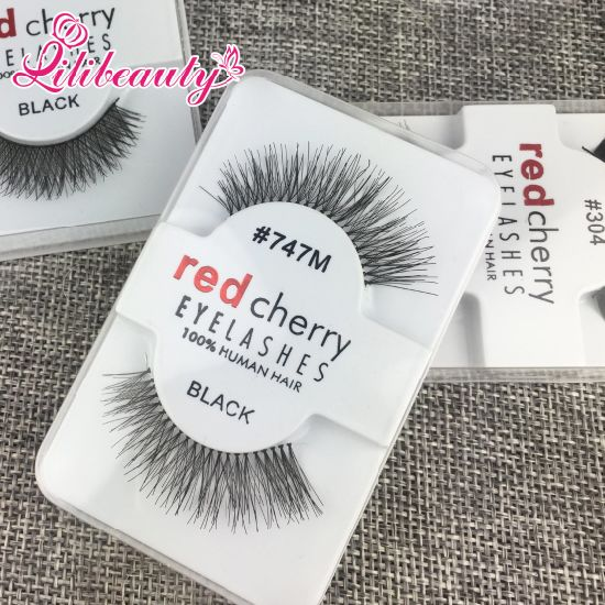 False Eyelashes Handmade Natural Long Thick Fur Eyelashes Soft Fake Eye Lash pictures & photos